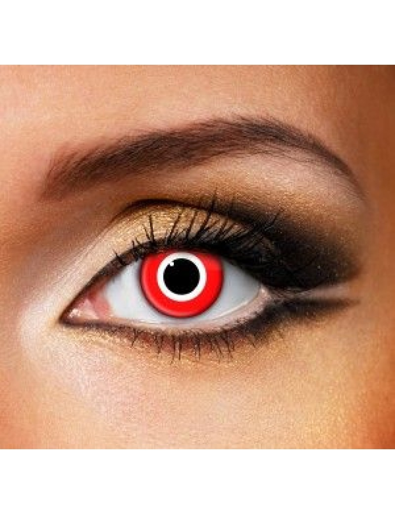 Assassin fancy dress costume party fashion theatrical daily eye accessories contact lenses Funky Vision 82805