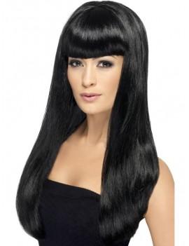 Beauty Wig Black Smiffys 42058