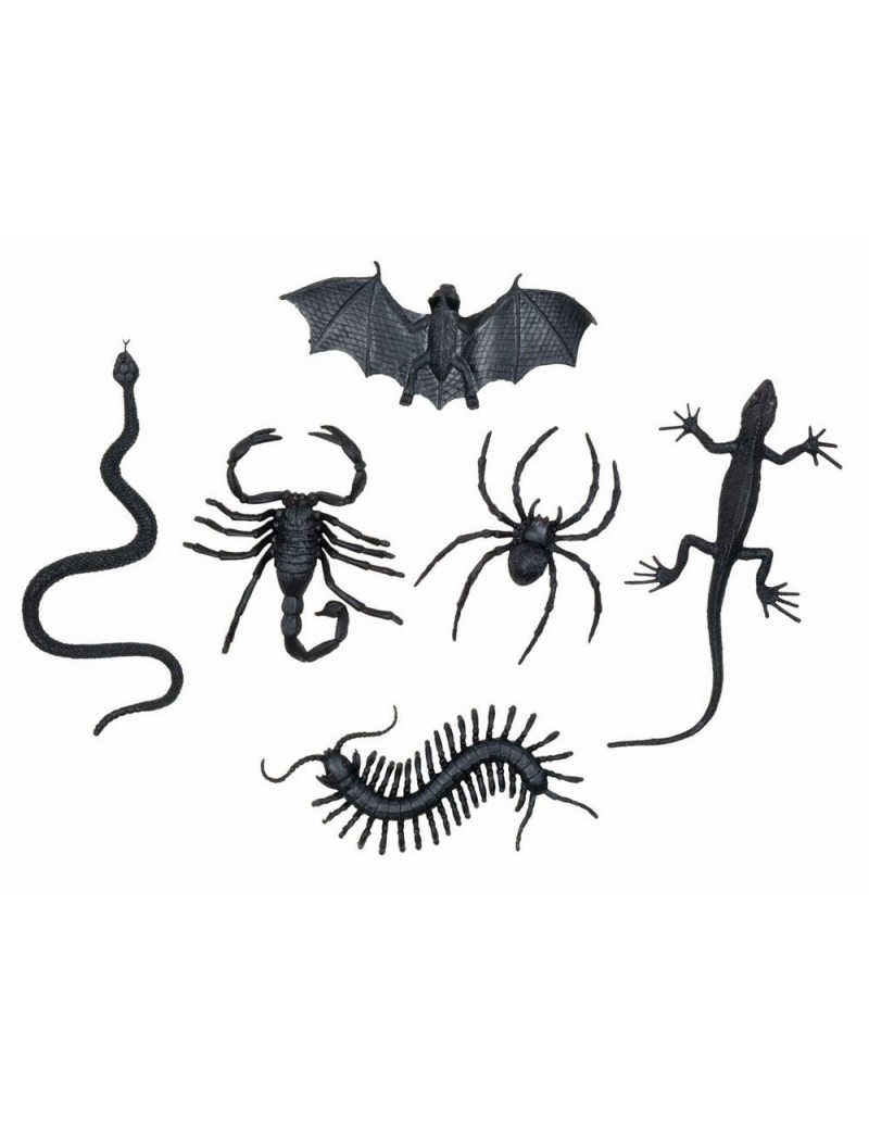 Pack of assorted creepy creatures Palmers 6282B