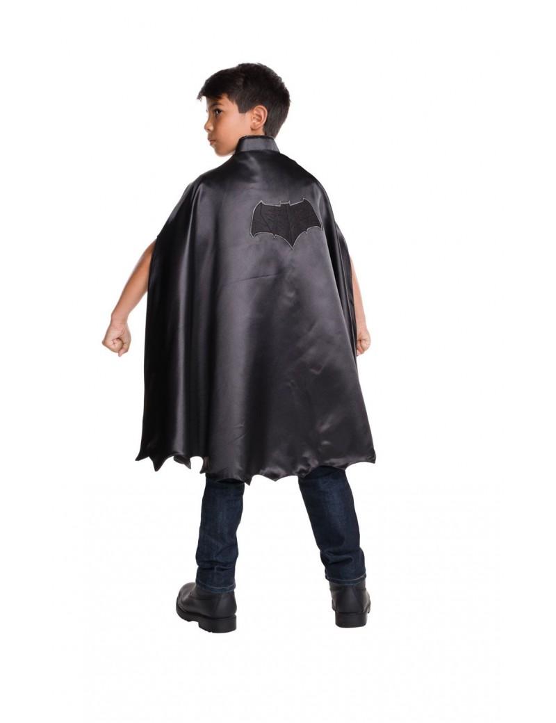 Batman black deluxe cape boys girls fancy dress Superhero costume party accessory Rubies 32681