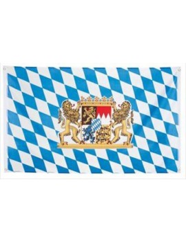 Bavarian Oktoberfest polyester large european flag 5 x 3 fancy dress costume party room decoration Palmer Agencies 5955