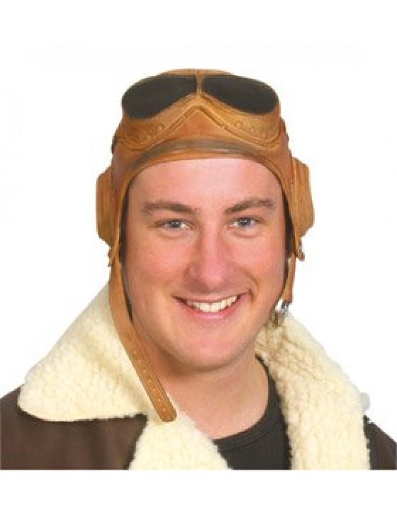 Biggles 40s World War airmen Grandpa rubber flying helmet Pams Of Gainsborough 11373