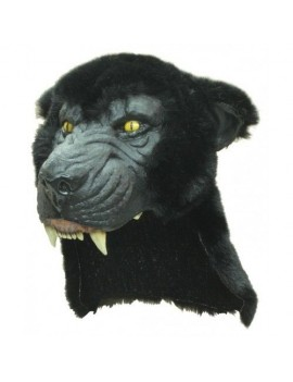 Black Panther animal fancy dress costume party headdress Ghoulish Productions GH-26422