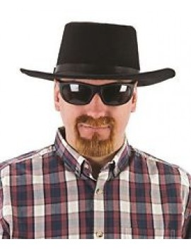 Breaking Bad Walter White ginger goatee false stick on beard fancy dress costume party Palmer Agencies 5199B