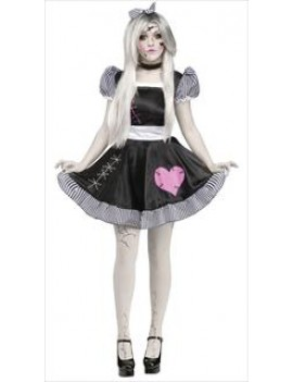 Broken Doll Costume XL Palmer Agencies 3291A 3291B
