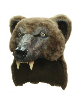 Brown Bear animal fancy dress costume party headdress Ghoulish Productions GH-26426