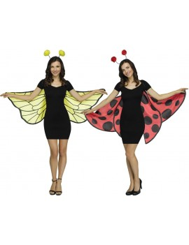Bumble Bee insect material wings ladies girls Palmer Agencies 4457A