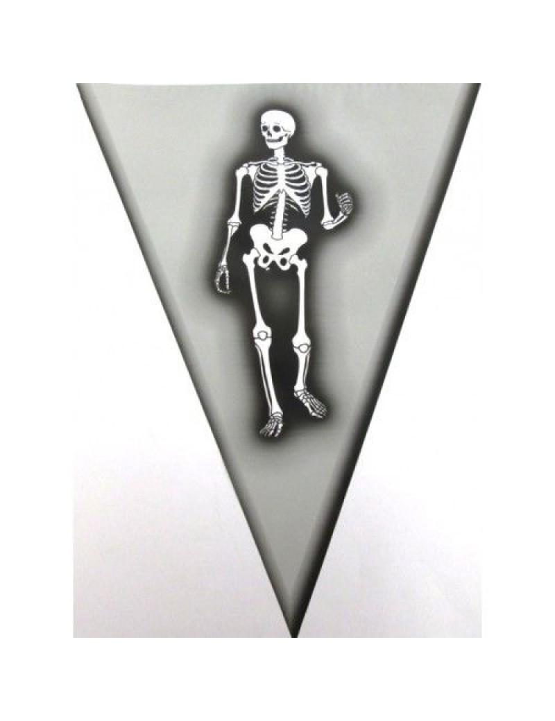 Skeleton plastic bunting Creative D-8103