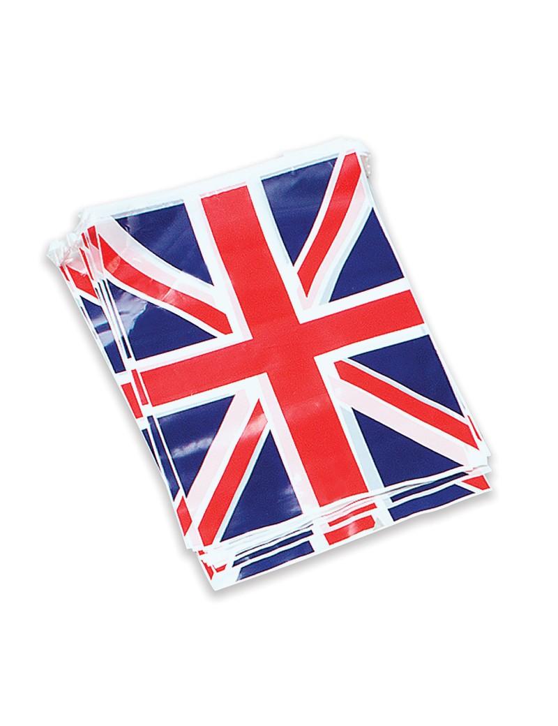 Union Jack flag plastic bunting Bristol Novelty PG022E