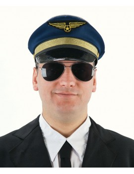 Captain airline pilot peaked cap Palmer Agencies 5678A