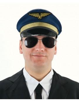 Captain airline pilot peaked cap Palmer Agencies 5678A