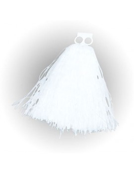 Cheerleader Pom Poms White
