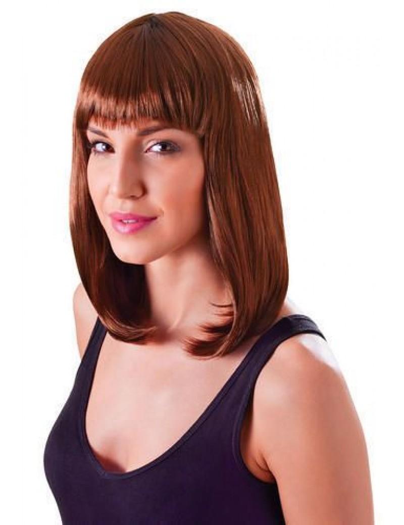 Chic doll wig brown Bristol Novelty BW853