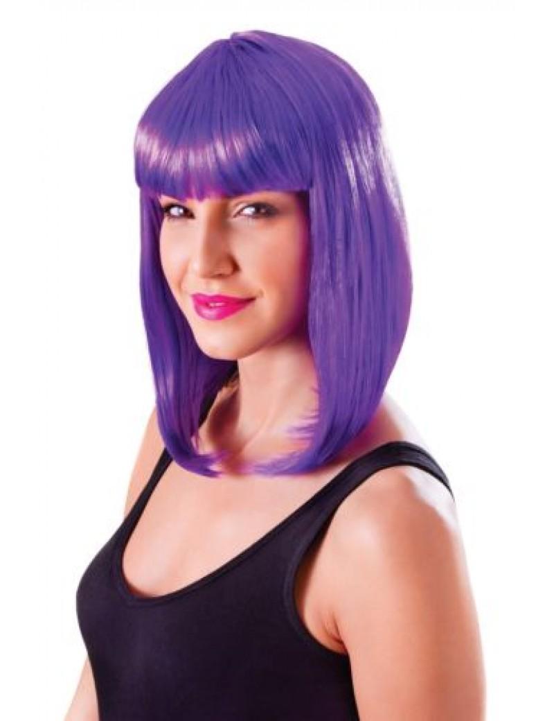 Chic doll wig neon purple Bristol Novelty BW858