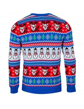 Comic British Christmas Jumper