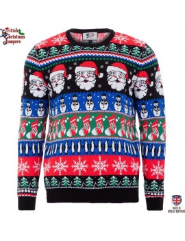 Christmas jumper Sparkle British Christmas Jumpers 5001A
