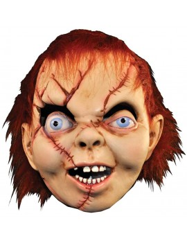 Chucky Childs Play fancy dress Halloween costume party deluxe mens mask Trick Or Treat Studios 1804A