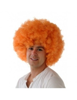 Afro wig orange Creative Collection A6004-OR