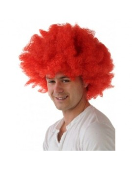 Afro wig red Creative A6004-R