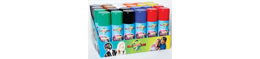 Coloured hair sprays