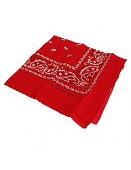 Cowboy bandana neckerchief  Western Wild West Frenchman red scarf Stylex ST1778