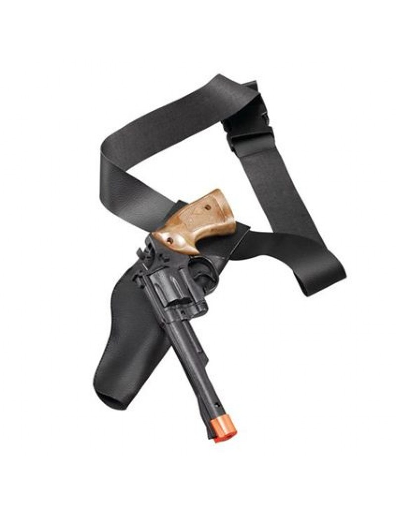 Cowboy plastic gun and holster set Bristol Novelty BA364