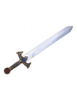 Crusader Knight sword fancy dress costume prop adults kids  Bristol Novelty BA957
