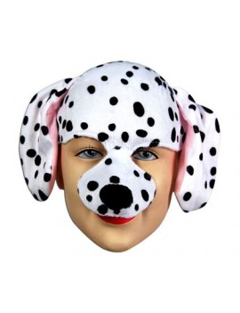 Dalmatian dog mask on headband fancy dress costume animal party Bristol Novelty EM087