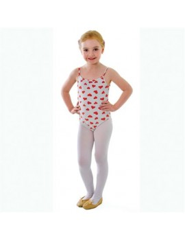 Dance ballet tights white girls Bristol Novelty BA740