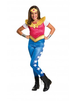 DC Comics Wonder Woman superhero girls deluxe fancy dress party tv film costume Rubies 620743