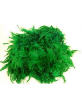 Feather boa Emerald Green 16614