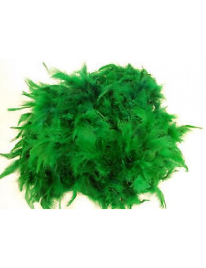 Feather boa Emerald Green 16614