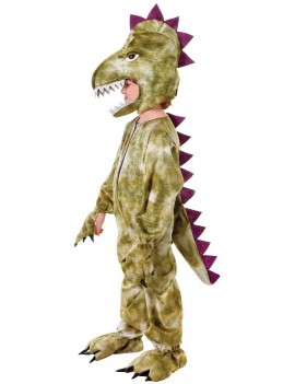 Dinosaur prehistoric T Rex Plush deluxe boys girls fancy dress costume stoneage party Bristol Novelty CC275 CC276