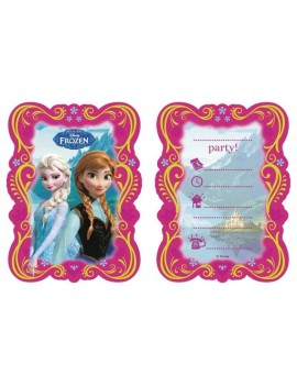 Disney Frozen  kids party invitations with envelopes U71605