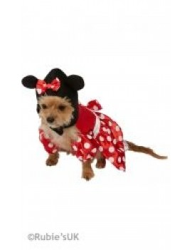 Disney Minnie Mouse Pet costume Rubies 580207