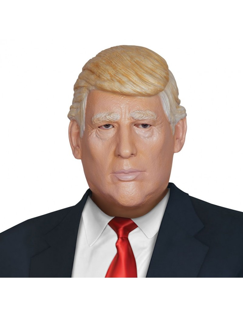Donald J Trump Latex Rubber US President costume mask Palmer Agencies 1751A