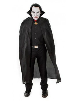 "Vampire Cape Black 56"" Bristol Novelty AC101"