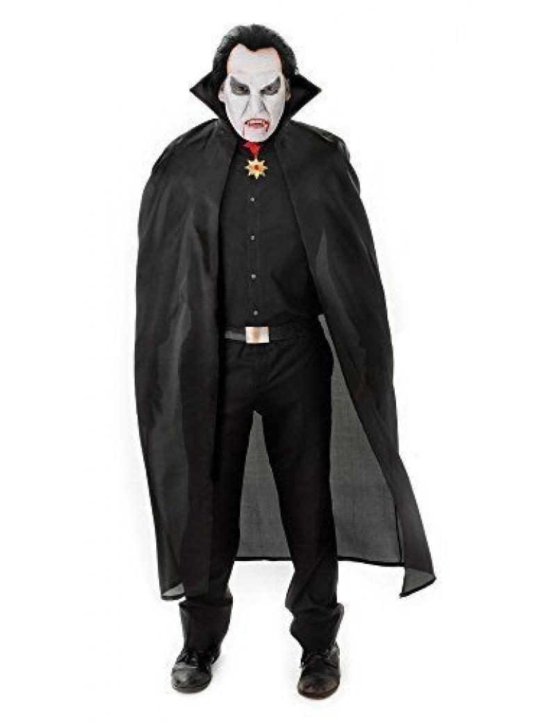 "Vampire cape Black 56"" Bristol Novelty AC101"