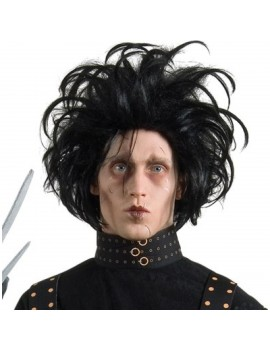 Edward Scissorhands film tv wig Halloween costume party mens boys wig Rubies 51494