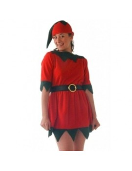 Elf fancy dress Christmas costume office party Creative C6094