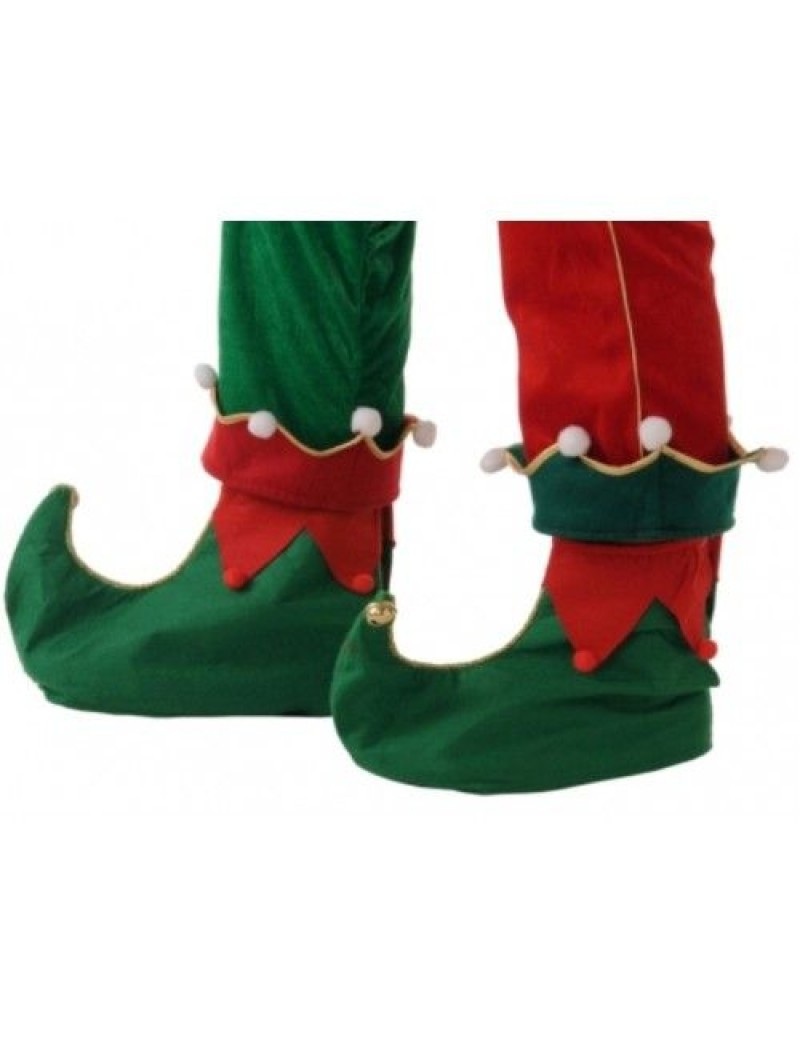 Elf Green felt shoe boot covers  Christmas Costume Party Accessory  Creative C6089