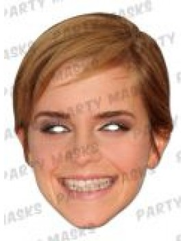 Emma Watson (Hermione Grainger)  costume party book day film British celebrity Mask-arade mask