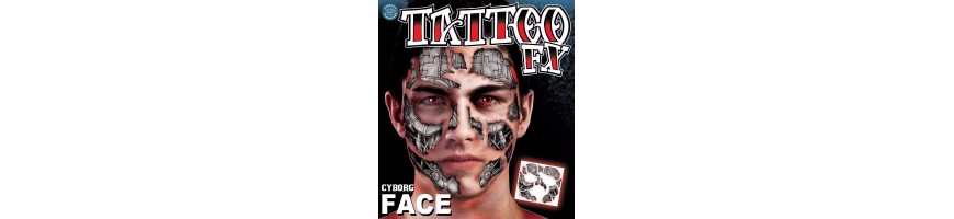 Facial tattoos XL
