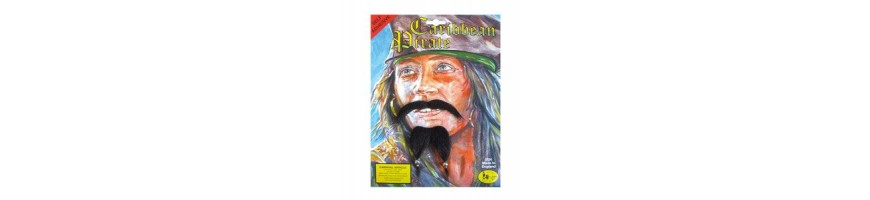 Fancy dress beard / moustache sets