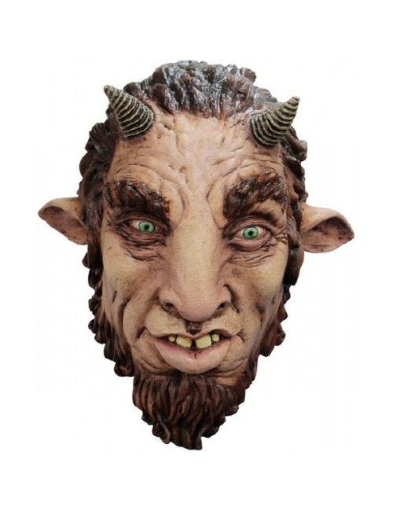 Faun Goat Tumnus fancy dress Halloween Narnia party mask Ghoulish Productions GH-26574