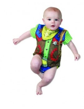 Cowboy Kids Baby Costume Creative Apparel 118768