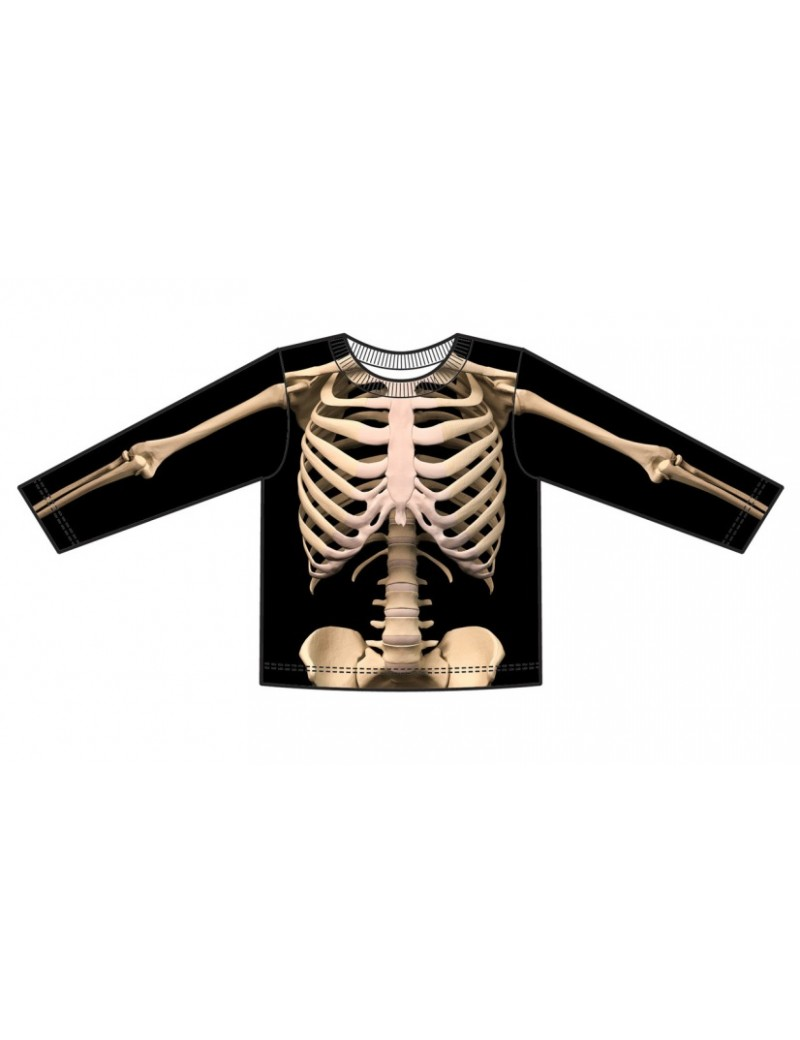 Skeleton costume t shirt Creative Apparel 126499