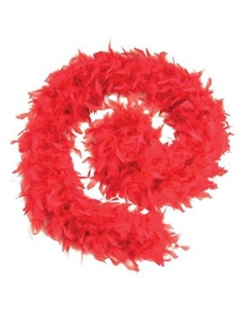 Feather boa red fancy dress 20s costume accessory Bristol Novelty  BA1671