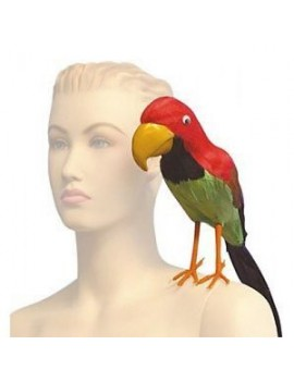 Feathered Parrot Pirate beach party prop Palmer Agencies 4309