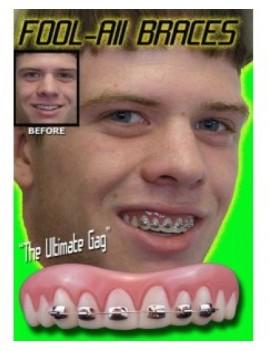 Billy Bob fool-all braces teeth Billy Bob BB-10112